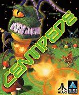 Centipede von Hasbro Interactive. Nie sah der Hunderfüßler verärgerter aus. (Bild: Atari)