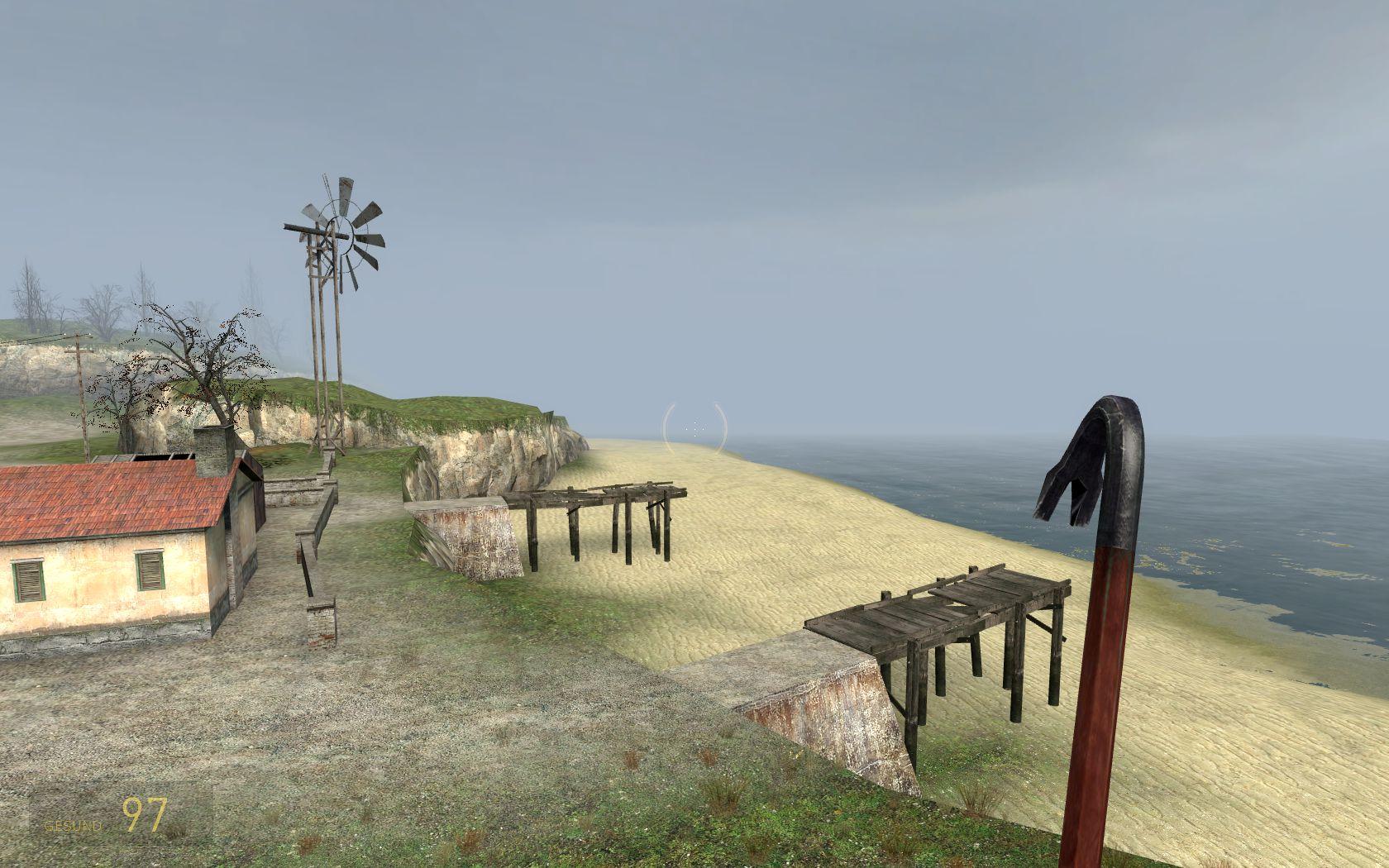 Die Aussicht vom Highway 17 auf den Strand. (Bild: André Eymann)