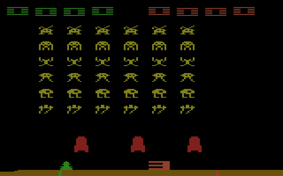 Space Invaders für das Atari VCS von 1980. Sternstunde der Konsolenspiele. (Bild: Atari)