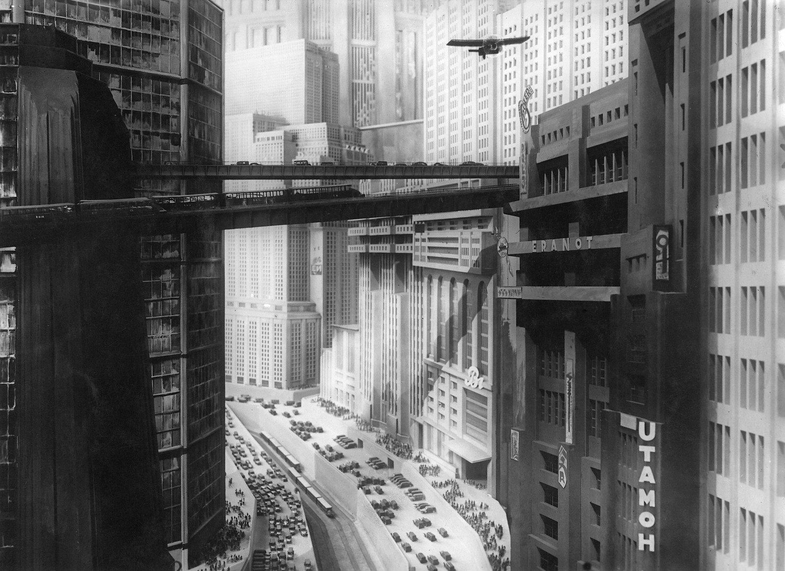 Architektur in Metropolis. (Bild: Murnau-Stiftung)