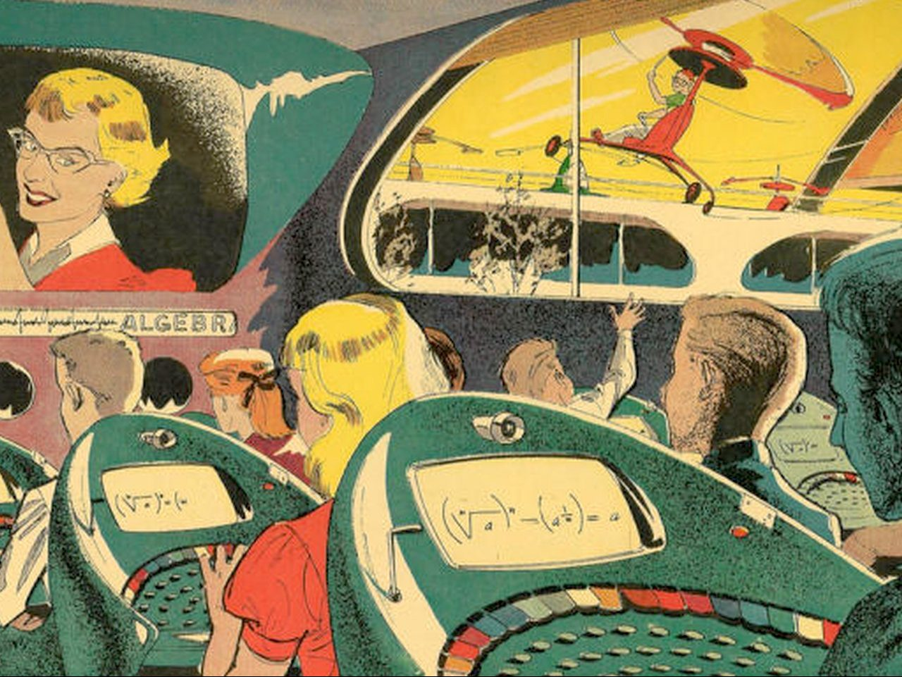 The Golden Age Of Futurism. (Bild: Gizmodo)