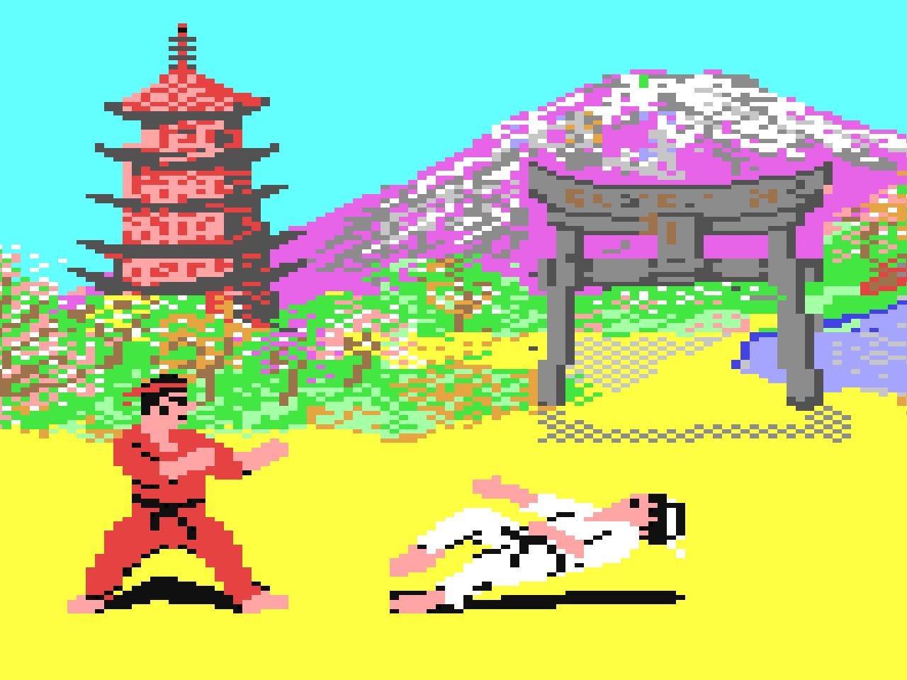 The Way of the Exploding Fist von 1985. (Bild: Beam Software)