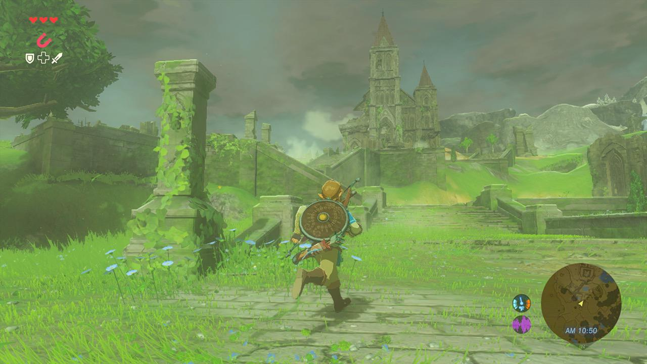The Legend of Zelda: Breath of the Wild ist ein Meilenstein der Open-World Fantasy-Spiele. (Bild: Nintendo)