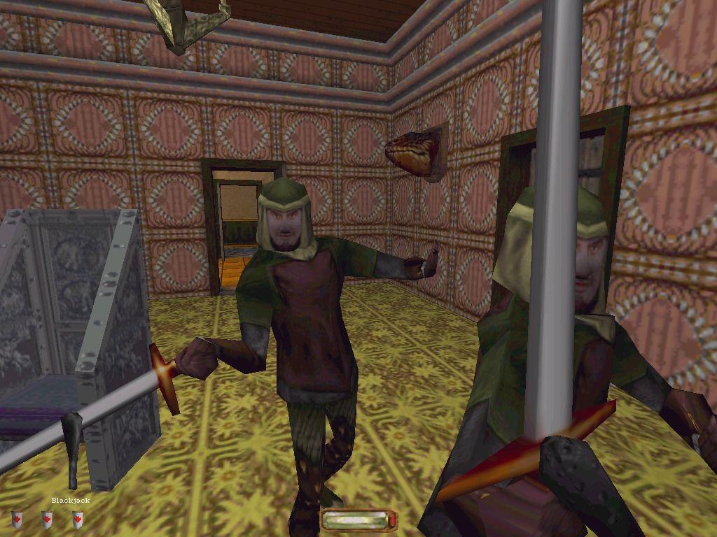 """Eine typische Szene aus Thief 1. Urteilt selbst: Erfüllt Thief die immersive Eigenschaft """"Hoher grafischer Detailgrad""""? (Bild: Looking Glass Studios)"""