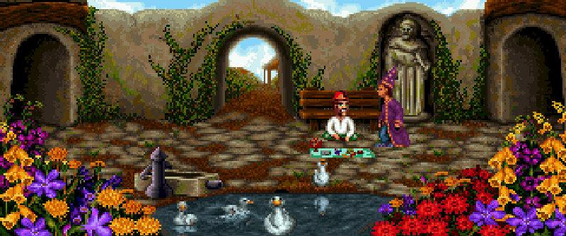 Szene aus Simon the Sorcerer. (Bild: Adventure Soft)