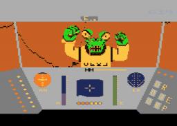 """Nein, Du kommst hier nicht rein! Das ist kein hilfesuchender, abgestürzter Pilot, sondern ein fieser """"Jaggie"""", der sich gerade mit Gewalt Zutritt verschafft. (Bild: LucasFilm Games)."""