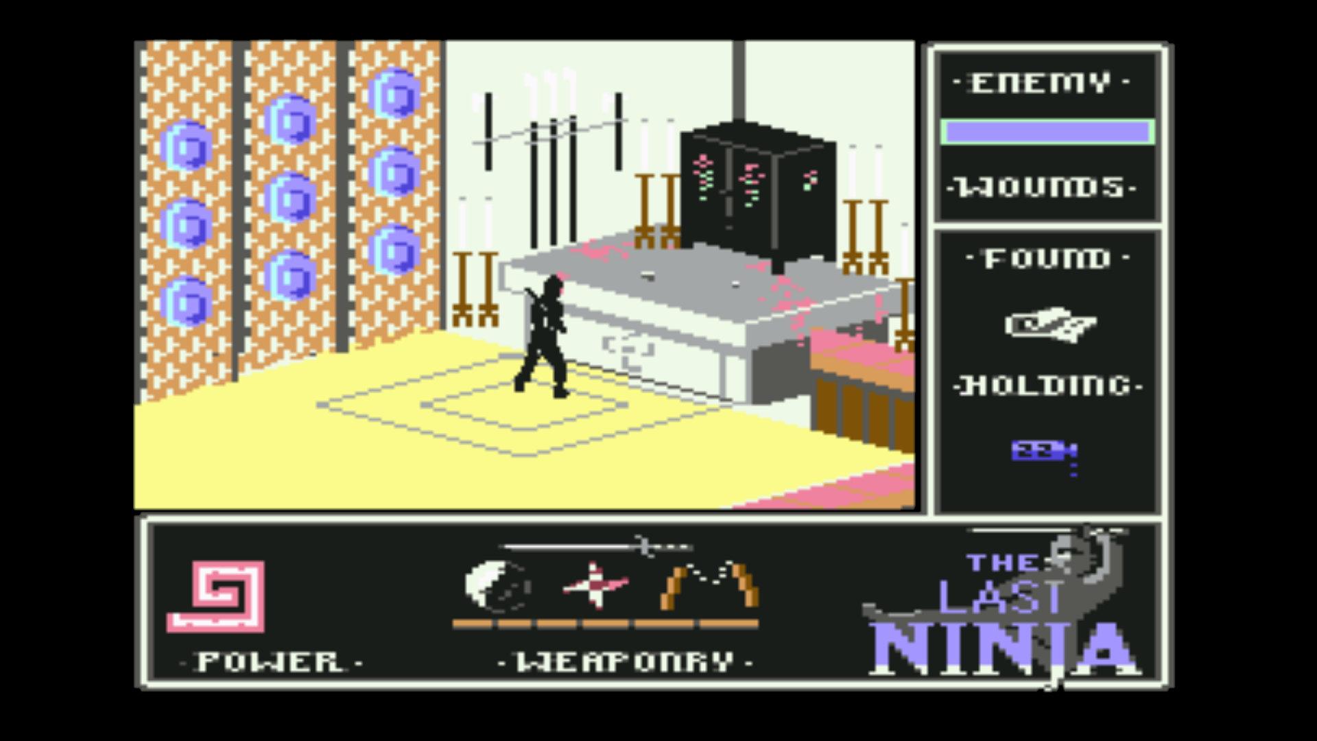 """Der letzte Ninja hat sein Letztes gegeben: den behutsamen Spieler trennen nur noch wenige Joystick-Befehle vom Endgegner und """"dem"""" Spielende - Abschlusssequenz oder Neuanfang? Permadeath wird bestimmt ein gerechtes Urteil fällen... (Bild: Andreas Wanda)"""
