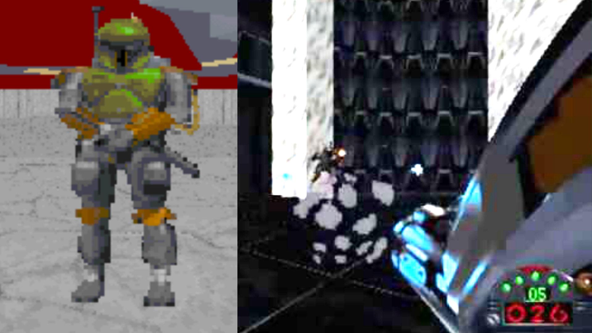 """Als Boba Fett noch mysteriös und nicht geklont und LucasArts überaus fleißig und engagiert, scheiterten 1995 tausende Möchte-Gern Rebellensöldner im Ego-Shooter Dark Forces an der feinen Khaki-farbenen Überraschung auf Coruscant, dem Zentrum des Galaktischen Imperiums im Star Wars-Universum. Oder wie Yoda sagen würde: """"Tu es. Oder tu es nicht. Es gibt kein Speichern."""" (Bild: Andreas Wanda)"""