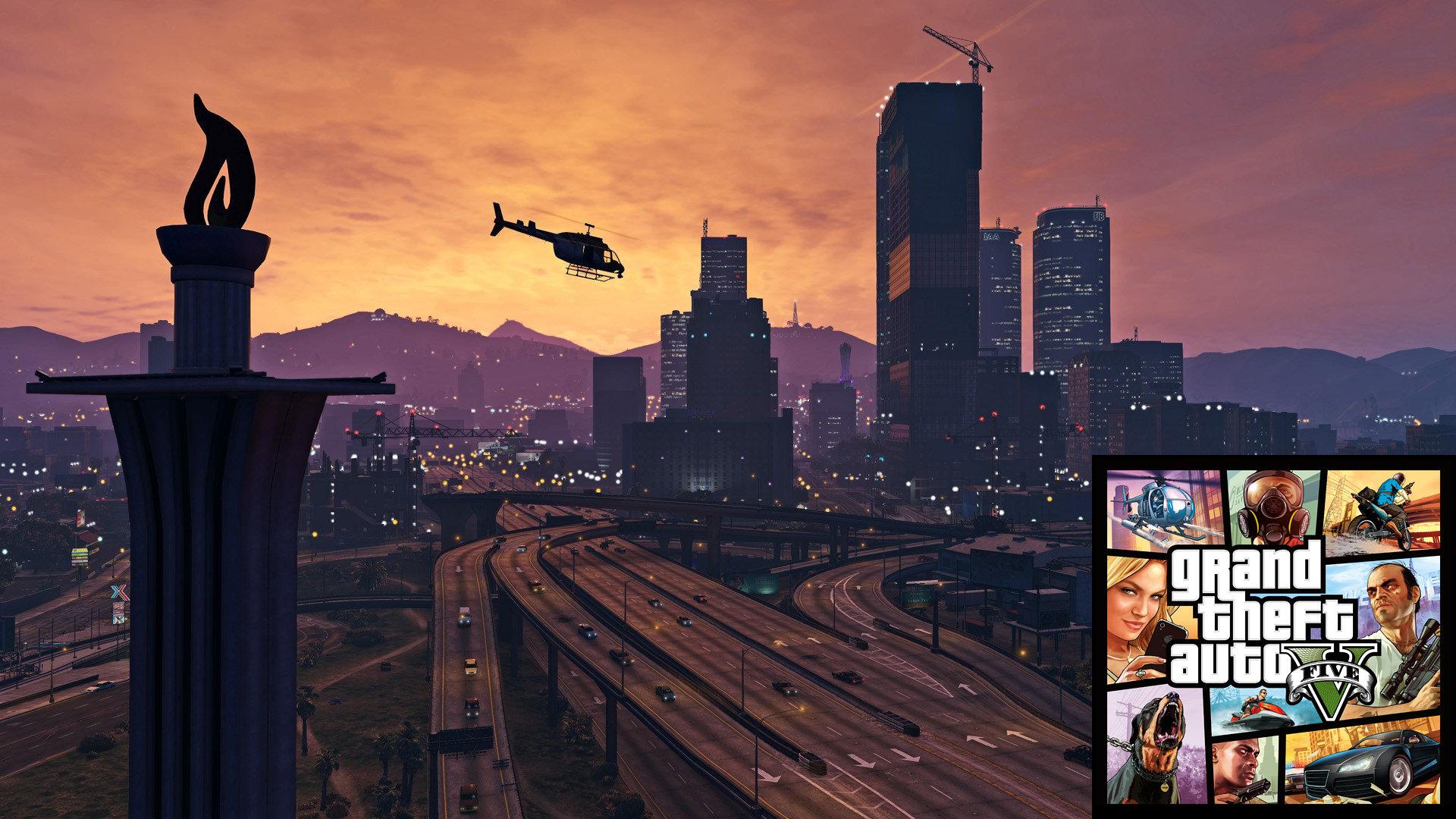 12 Jahre nach GTA III tischt Rockstar den Spielern 2013 eine digitale Nachahmung von Los Angeles namens Los Santos auf, das über drei Protagonisten erforscht, entdeckt, erlebt werden kann. Wer stirbt, setzt einfach wieder beim letzten automatischen Speicherpunkt sein freies Treiben fort. (Bild: Andreas Wanda)