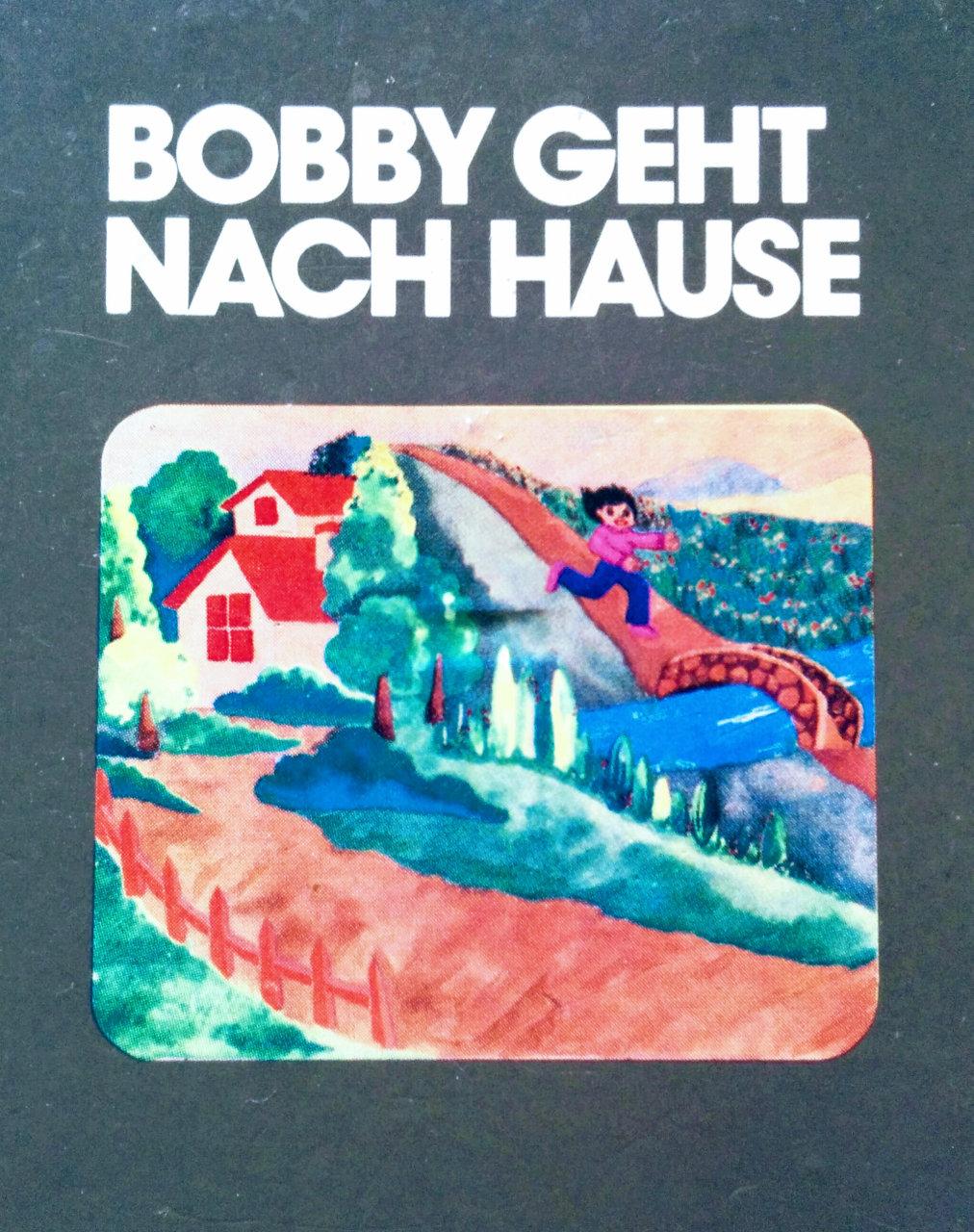 Cover des Spielmoduls, Bobby geht nach Hause, Quelle, 1983. (Bild: Florian Weber)
