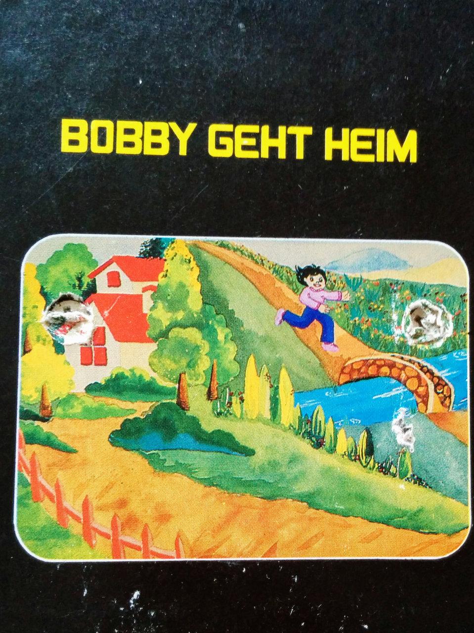 Cover des Spielmoduls, Bobby geht heim, Quelle, 1982. (Bild: Florian Weber)