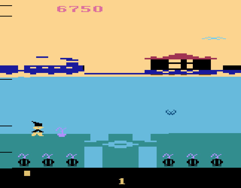 Screenshot von Bobby is going home, Bit Corporation, 1983. (Bild: Florian Weber)