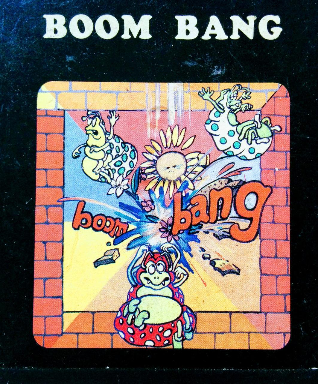 Cover des Spielmoduls, Boom Bang, Hersteller und Jahr unbekannt. (Bild: Florian Weber)