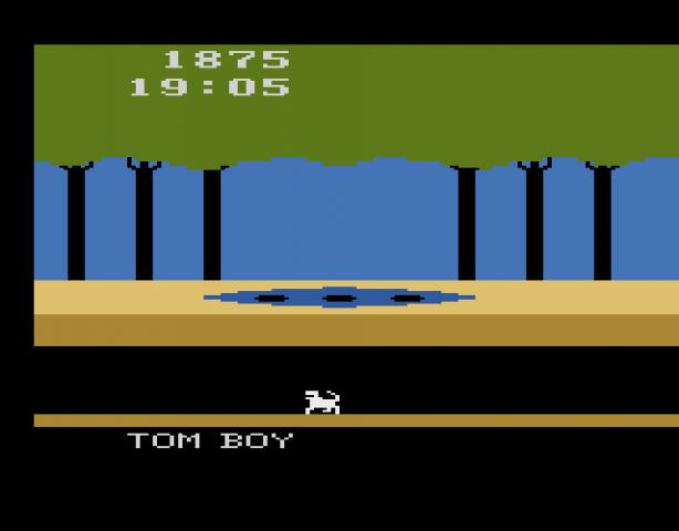 Screenshot von Tom Boy, Rainbow Vision, 1983. (Bild: Florian Weber)