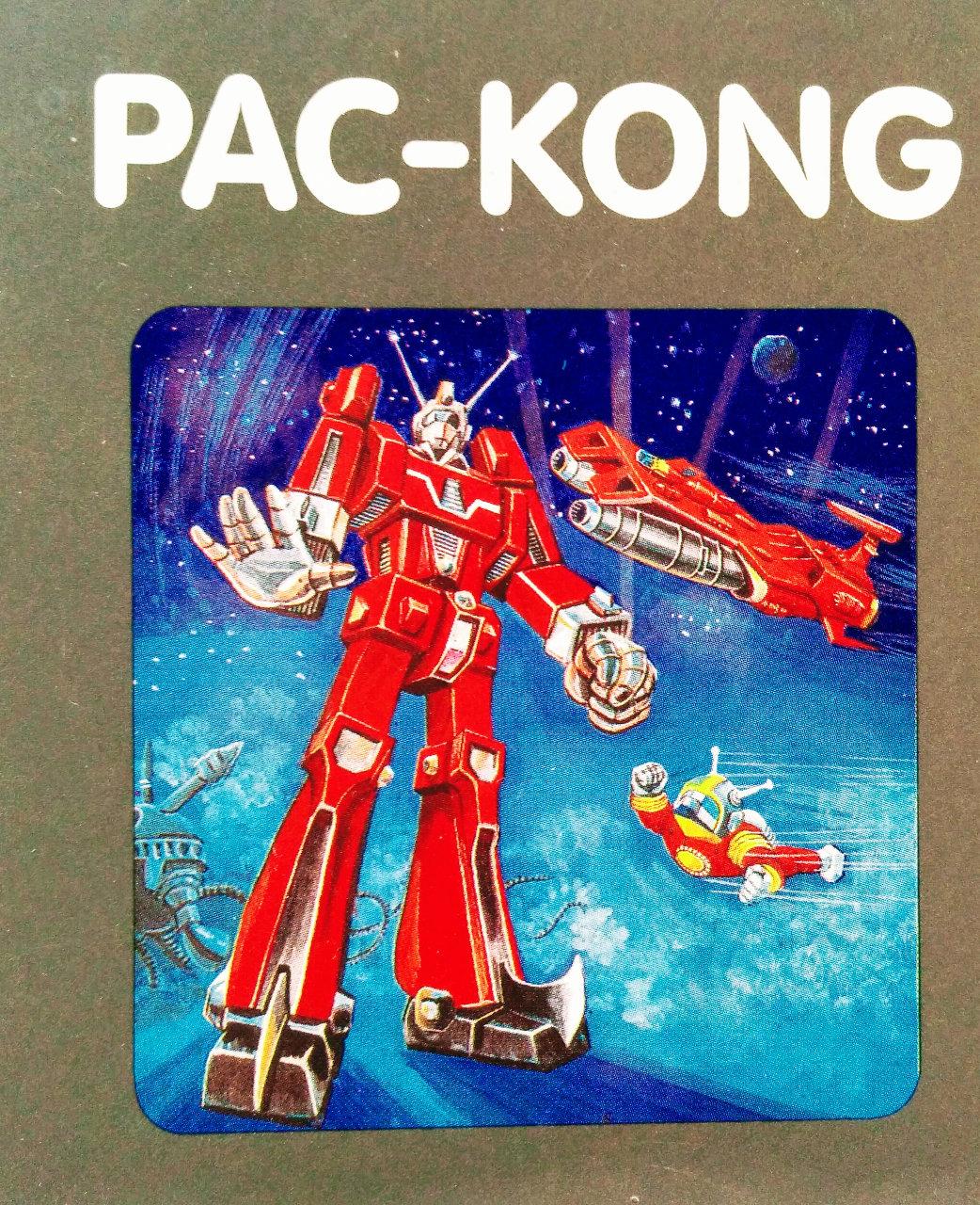 Cover des Spielmoduls, Pac-Kong, Quelle, 1983. (Bild: Florian Weber)