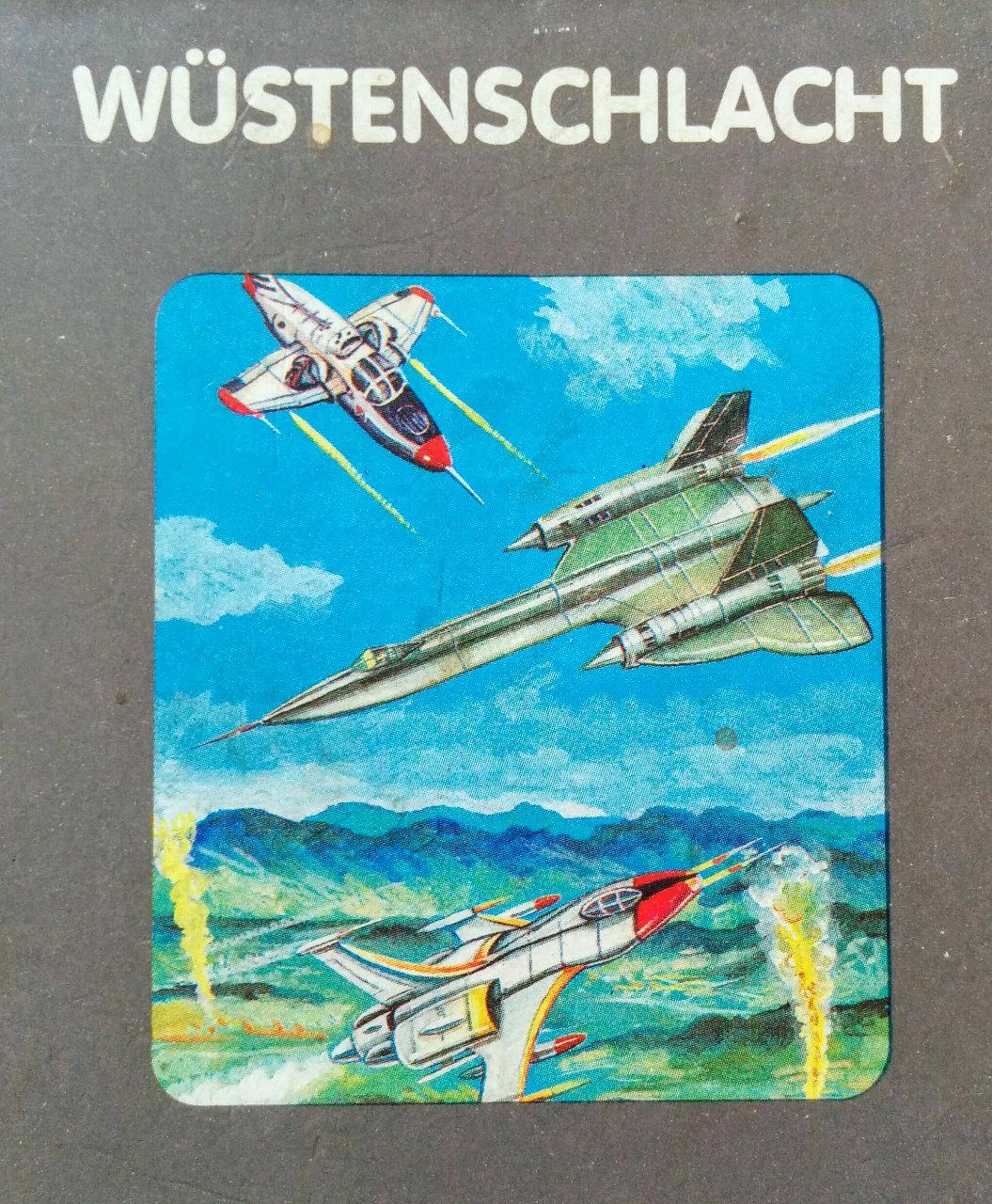 Cover des Spielmoduls, Wüstenschlacht, Quelle, 1983. (Bild: Florian Weber)