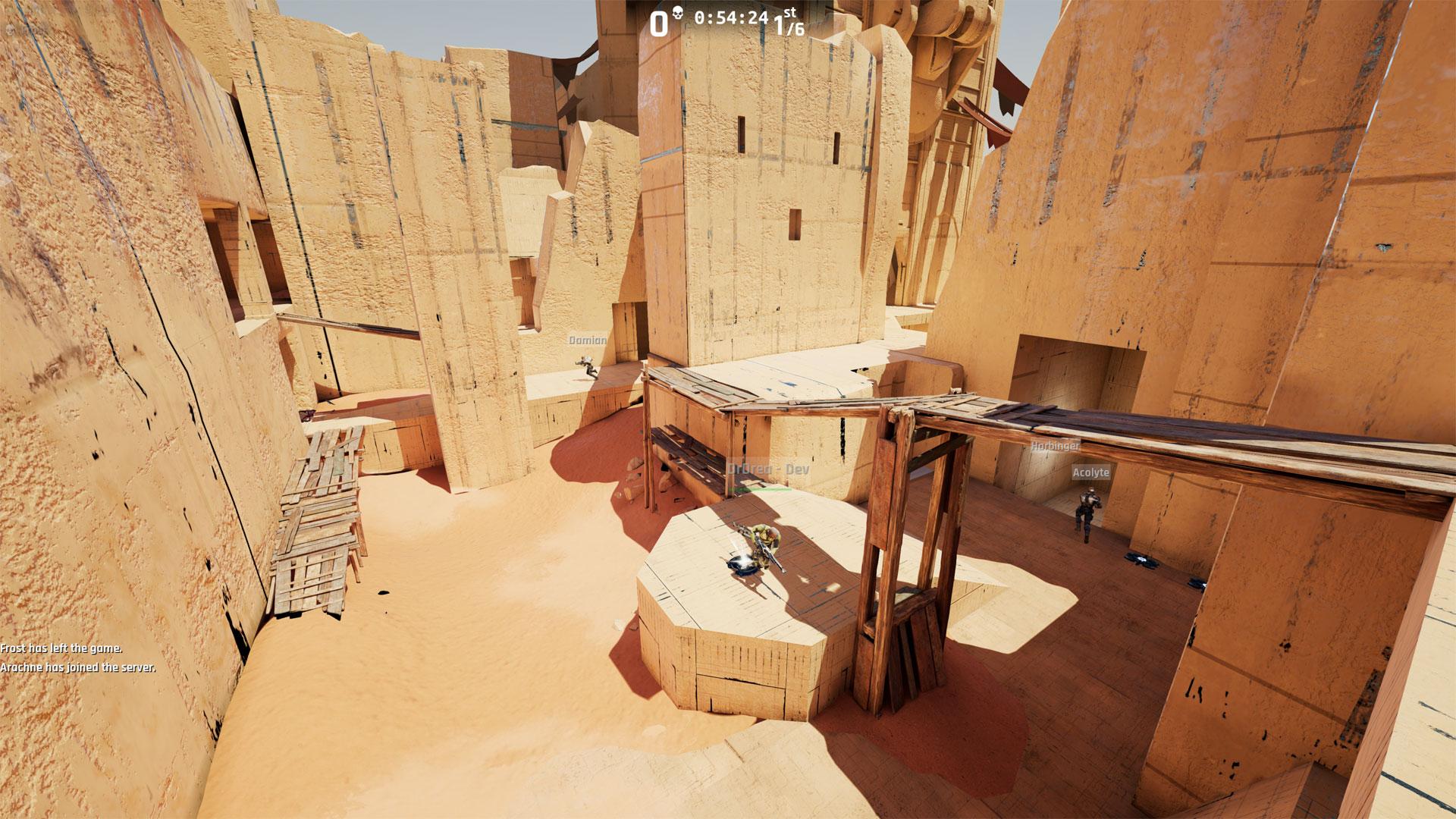"""So kann eine Map für das neue Unreal Tournament aussehen. (Bild: UT Map """"Sand"""" von Adam """"Gooba"""" Wood)"""