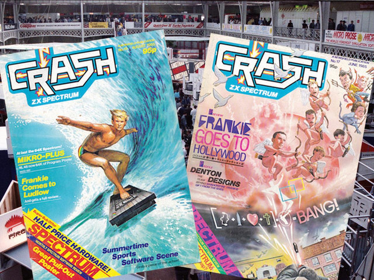 Crash-Ausgaben aus der Heimat des ZX Spectrum. (Bild: André Eymann)