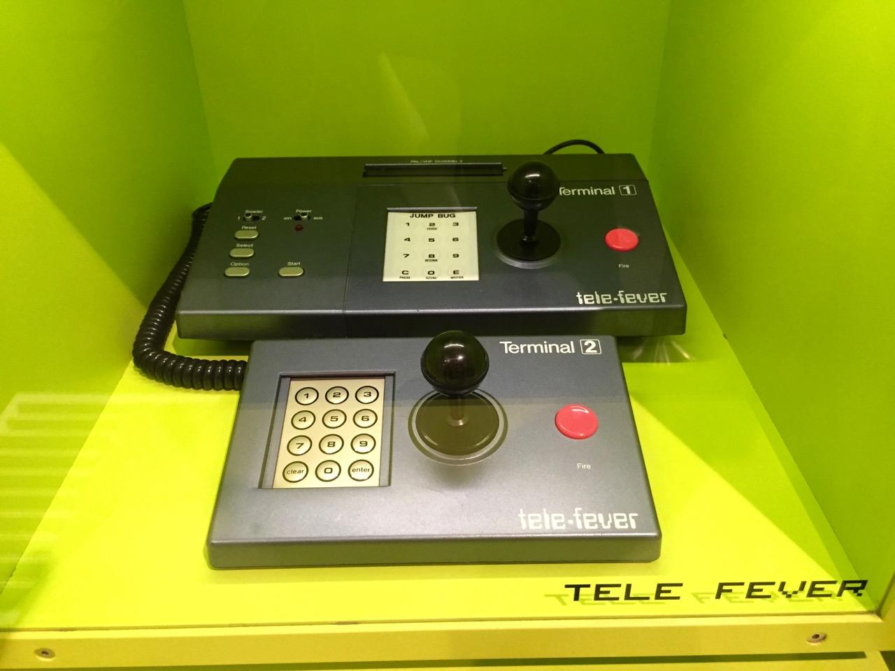 Eine seltene Tele-Fever-Konsole. (Bild: André Eymann)