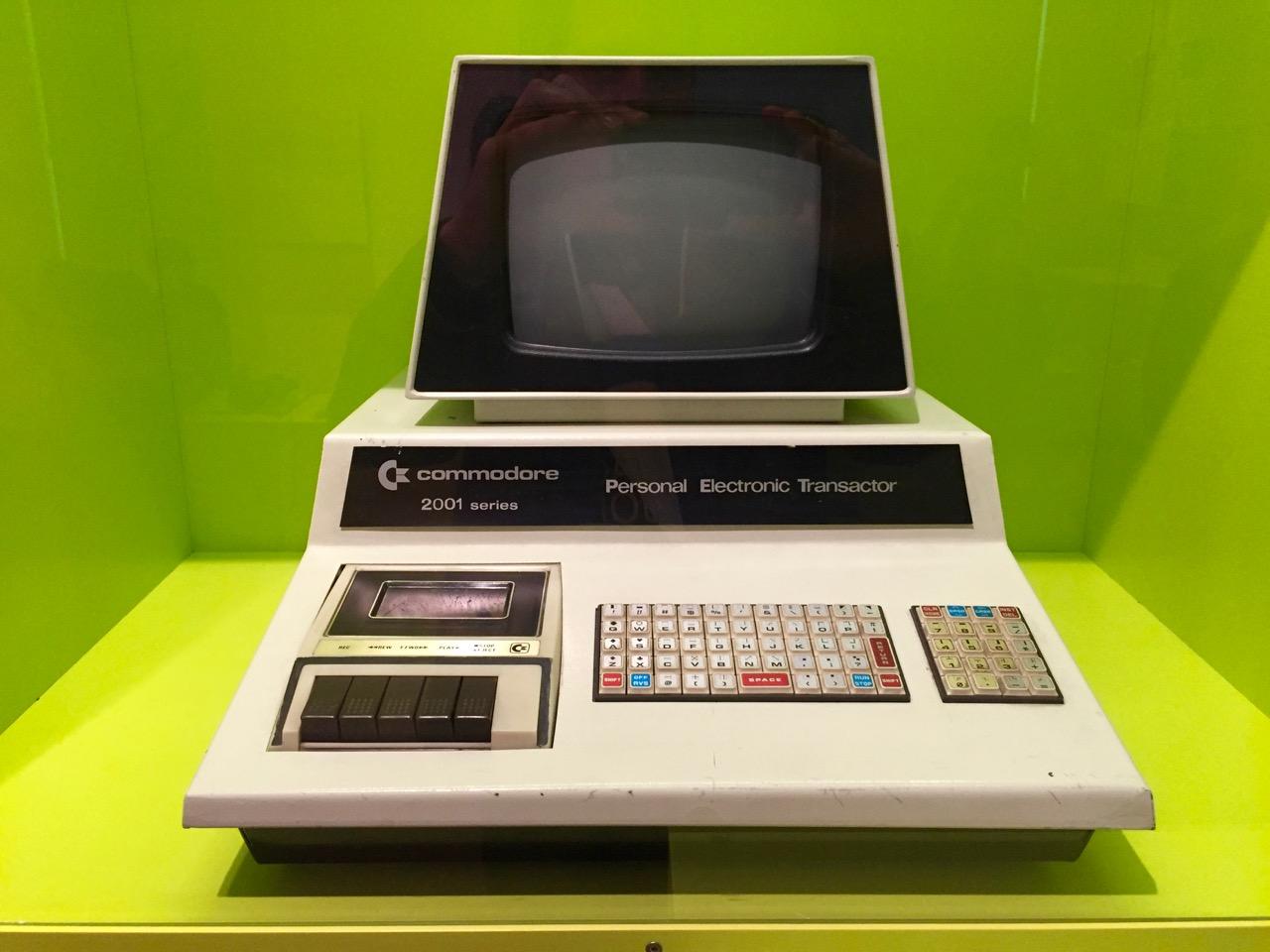 Der Commodore PET 2001 erschien im Jahre 1977. (Bild: André Eymann)