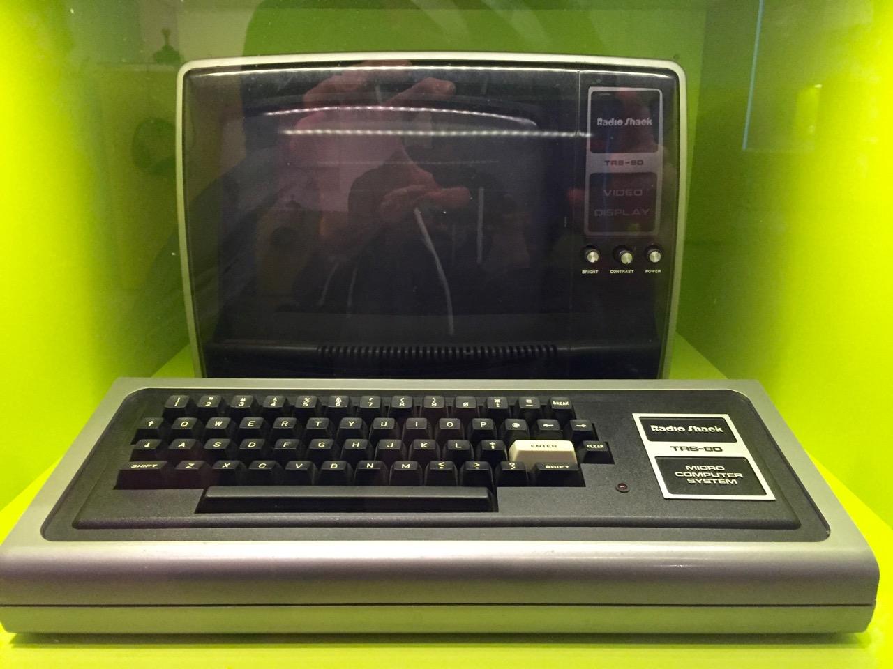 Ein TRS-80 Homecomputer. (Bild: André Eymann)