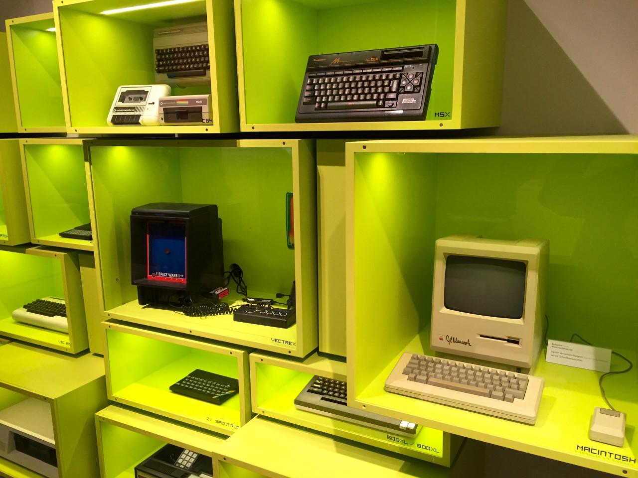 Meilensteine der Computergeschichte im CSM. (Bild: André Eymann)