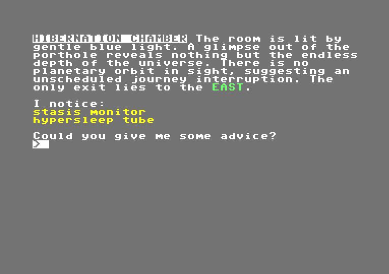 """Screenshot von """"Hibernated: Part I - This Place is Death"""". (Bild: Stefan Vogt)"""