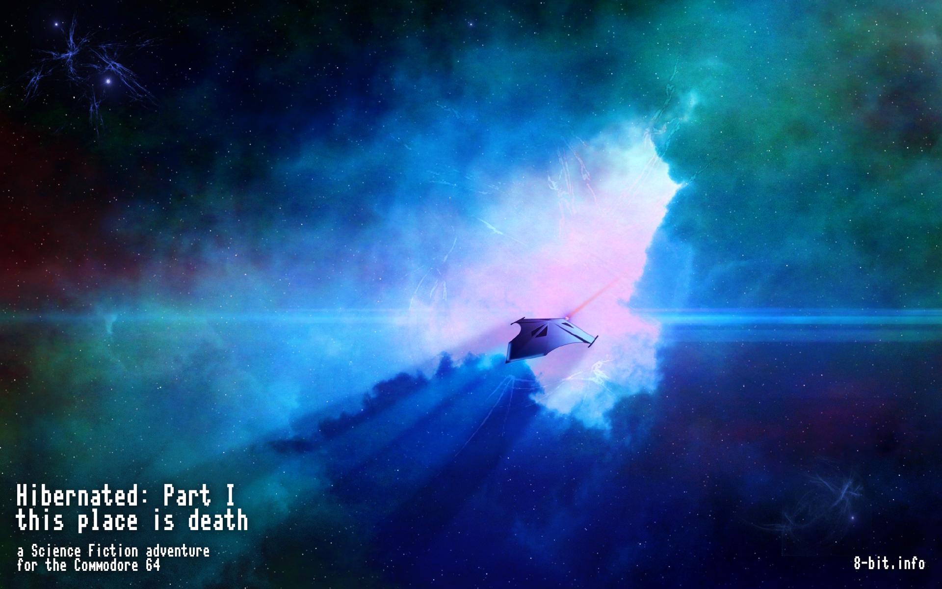 "Wallpaper zu ""Hibernated: Part I - This Place is Death"". (Bild: Stefan Vogt)"