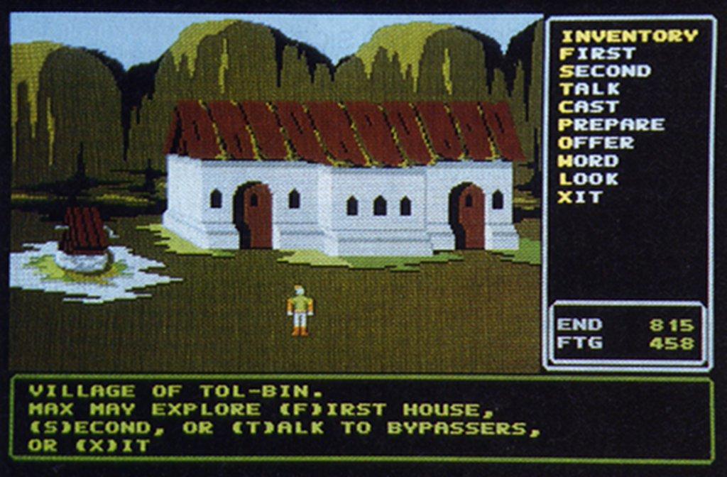 Rings of Zilfin - Ein Grafik-Rollenspiel aus den 1980er Jahren für den Atari ST. (Bild: SSI, Logical Design Works)