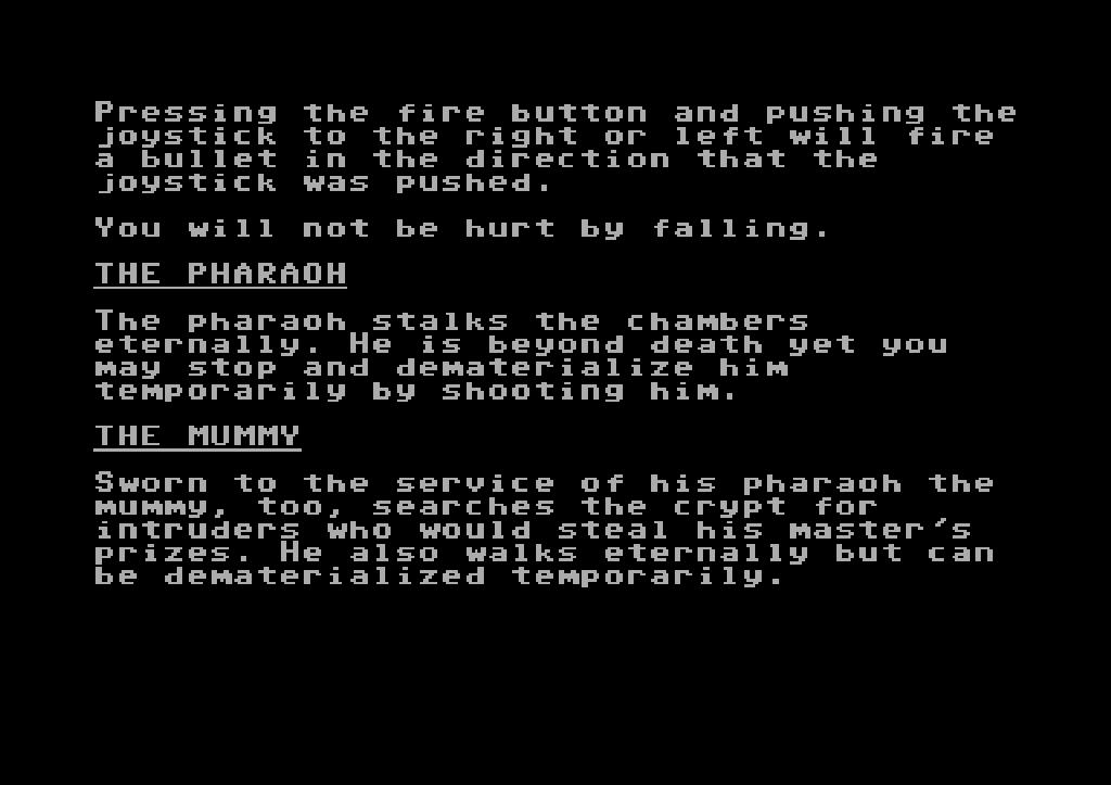 Einführung in die Legende, Teil 5: Der Pharao und die Mumie. (Bild: Synapse Software)