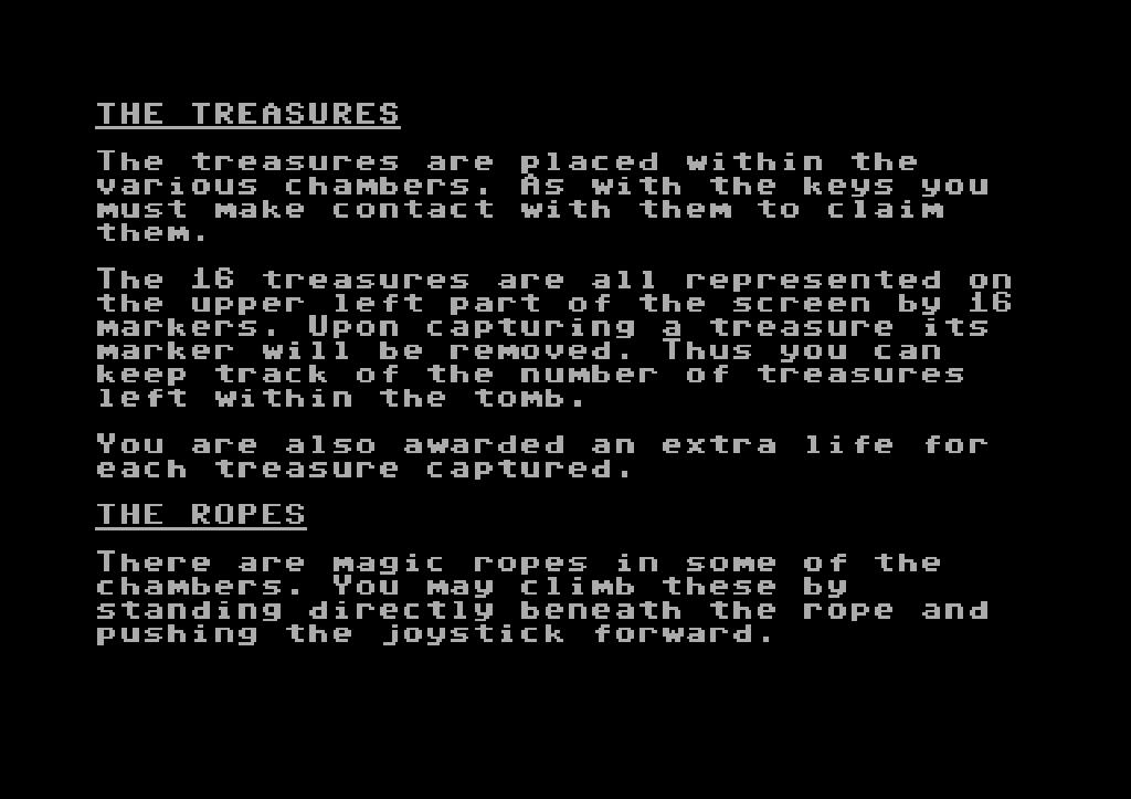 Einführung in die Legende, Teil 7: Die Schatzkammer des Pharaoh's. (Bild: Synapse Software)