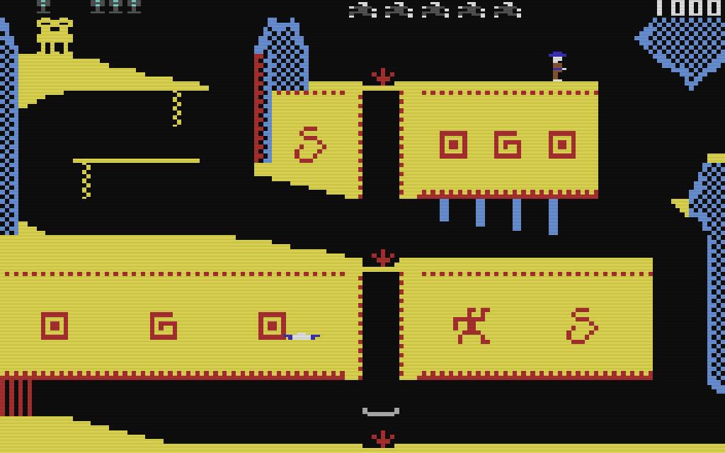 Ägyptische Motive verzieren den Levelaufbau. (Bild: Synapse Software)