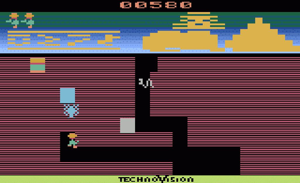 Die Technovision-Version von Pharaoh's Curse aus 1983. (Bild: Technovision)