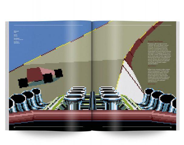 Stunt Car Racer: Ohne Zweifel das beste Rennspiel auf dem Amiga: Unfassbar gut mit zwei verbundenen Amigas. (Bild: Bitmap Books)