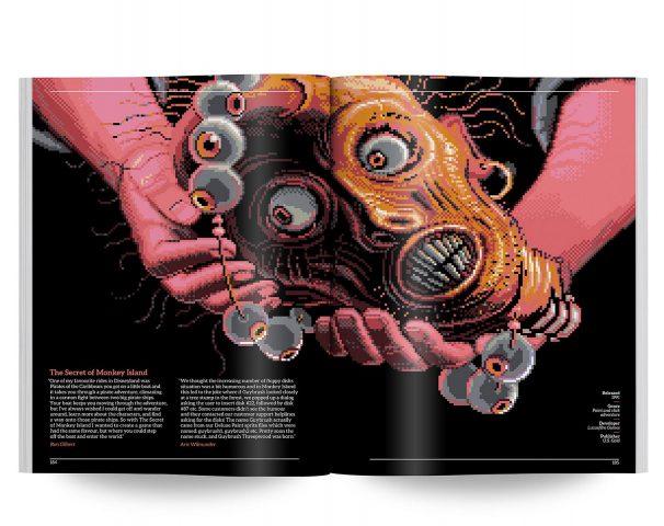 The Secret of Monkey Island von Lucasfilm Games hat 1990 die Latte für Grafik-Adventure mal so richtig hoch gelegt. (Bild: Bitmap Books)