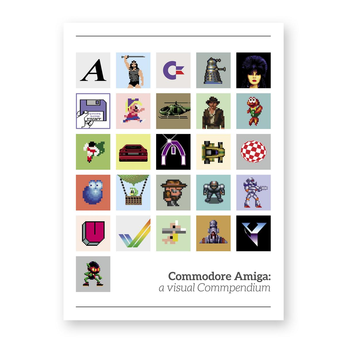 Gibt´s auch zu Kaufen: Commodore Amiga: a visual Commpendium (Bild: Bitmap Books)