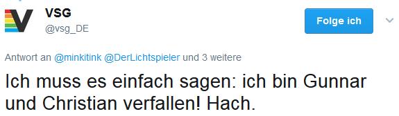 André Eymann via Twitter über Stay Forever