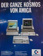 Die ganze Amiga-Familie: Modelle 1000, 500 (unten) und 2000. (Bild: Stephan Ricken)