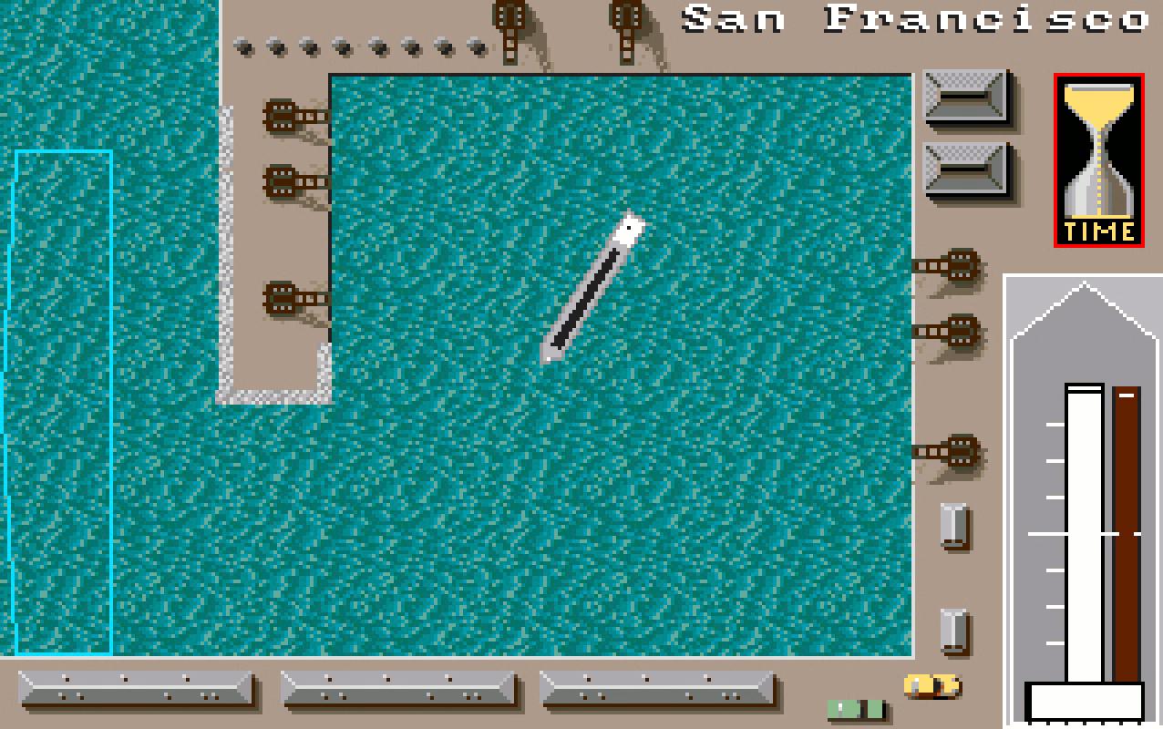 """San Francisco war einer der beliebtesten Heimathäfen in Ports of Call. Wir nannten ihn """"Das Kinderbecken"""" - Auslaufen leicht gemacht. (Bild: Stephan Ricken)"""