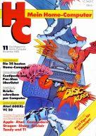 Titelseite der Erstausgabe im November 1983. (Bild: Vogel-Verlag)
