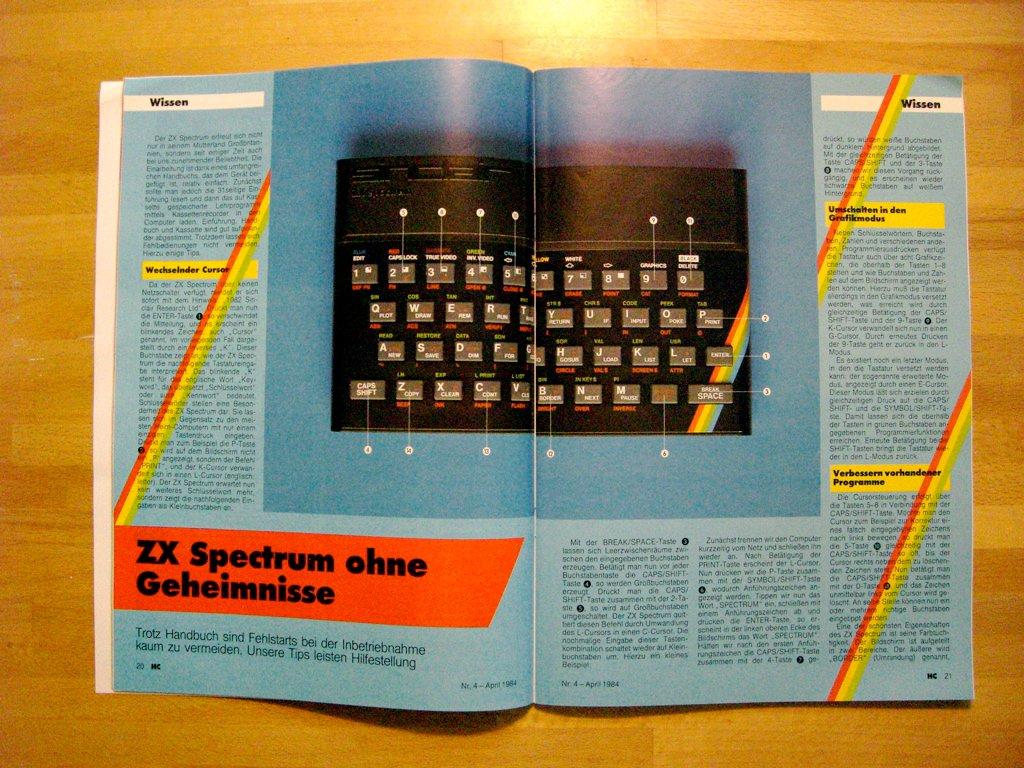 Bericht: ZX Spectrum ohne Geheimnisse. (Bild: André Eymann)