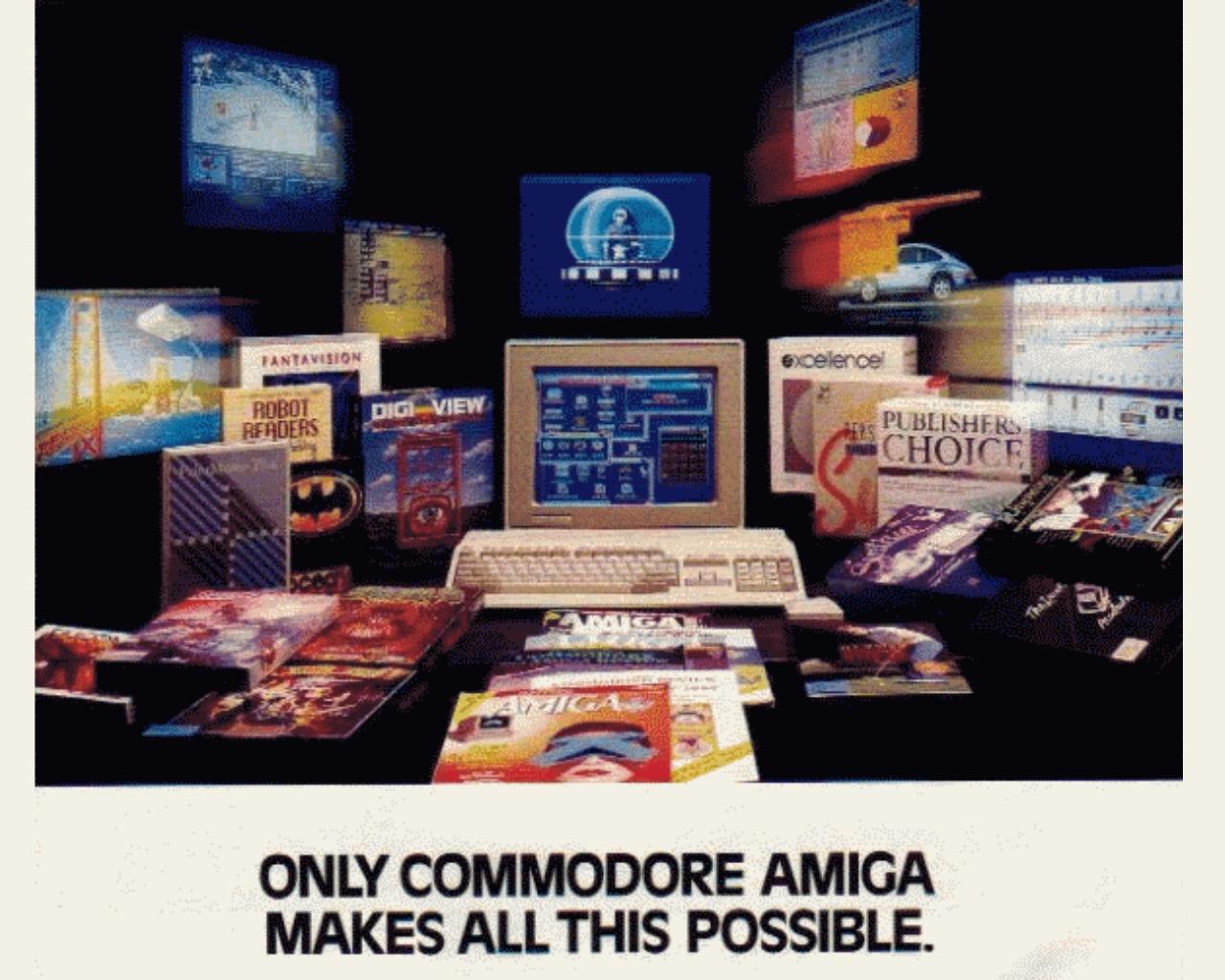 Commodore ignoriert das Potential des genialen Amiga 500