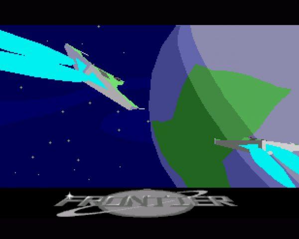 Das letzte große Amiga-Spiel war wohl David Brabens Frontier - Elite II. Ausgefüllte Vektorgrafiken und Planetenbesuche forderten den Ur-Amiga spürbar. Mitunter wären wohl Optimierungen noch möglich gewesen, aber 1993 beginnt langsam die Zeit, da der Käufer Hardwareanforderungen erfüllen und nicht der Programmierer sorgsam mit seinem Code umgehen muss. Entwickler konnten jedoch im Falle des Amigas beides nicht ändern: zu geschrumpft waren die Absätze, zu gering die Durchdringung diversers Hardware-Erweiterungen, als dass ein besonderes Engagement Sinn gemacht hätte. (Bild: Andreas Wanda)