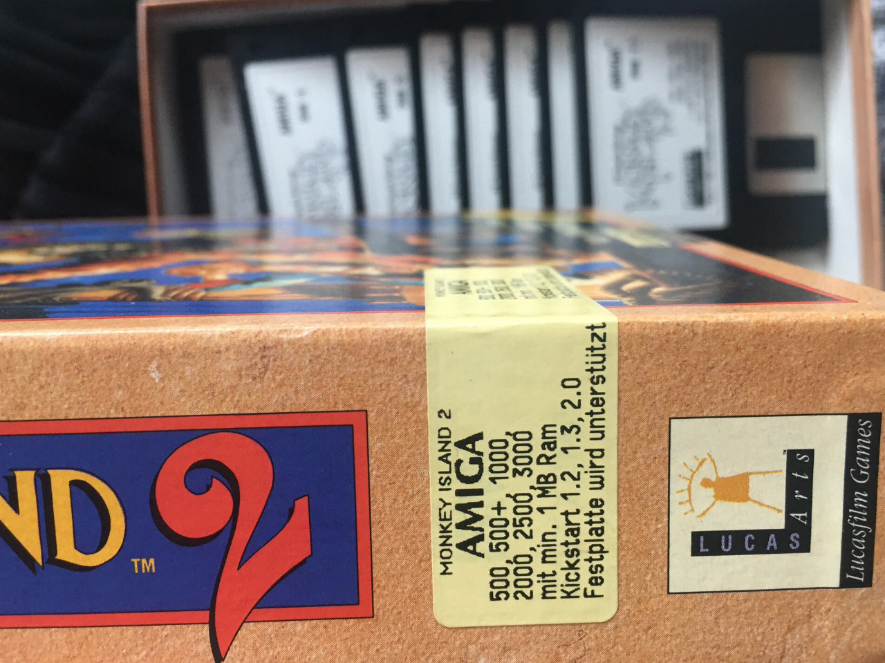 Ein Amiga, eine Turbokarte, ein Mann. (Bild: Andreas Wanda)