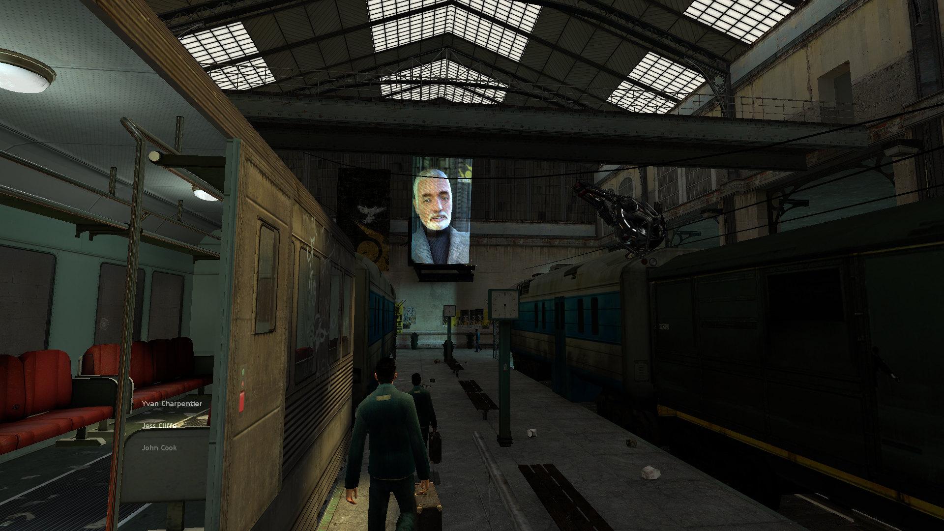 Endstation City 17. Der Bahnhof, in dem Gordon nach seiner Ankunft in City 17 aussteigt, findet sein reales Vorbild in der Budapest Western Railway Station von 1877. (Bild: Valve)