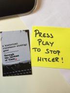 Spielanleitung für TTDOT auf dem Talk&Play in Berlin. (Bild: Jörg Friedrich)