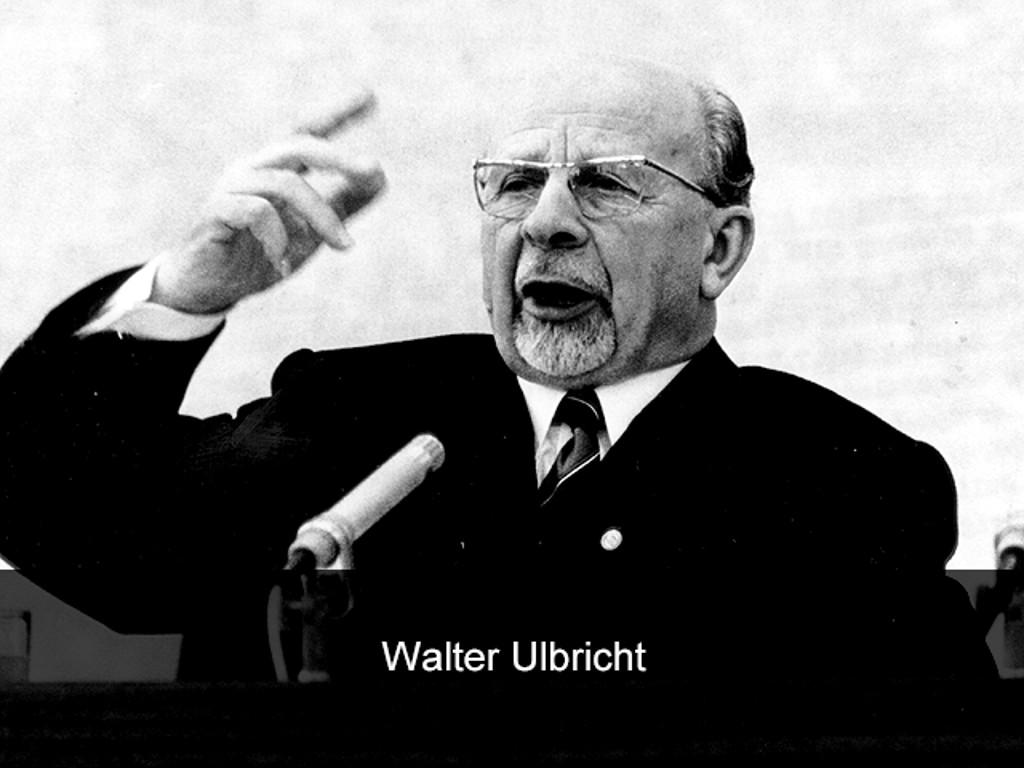 Walter Ulbricht, bis 1971 Vorsitzender des Staatsrates der DDR. (Bild: Sunflowers)