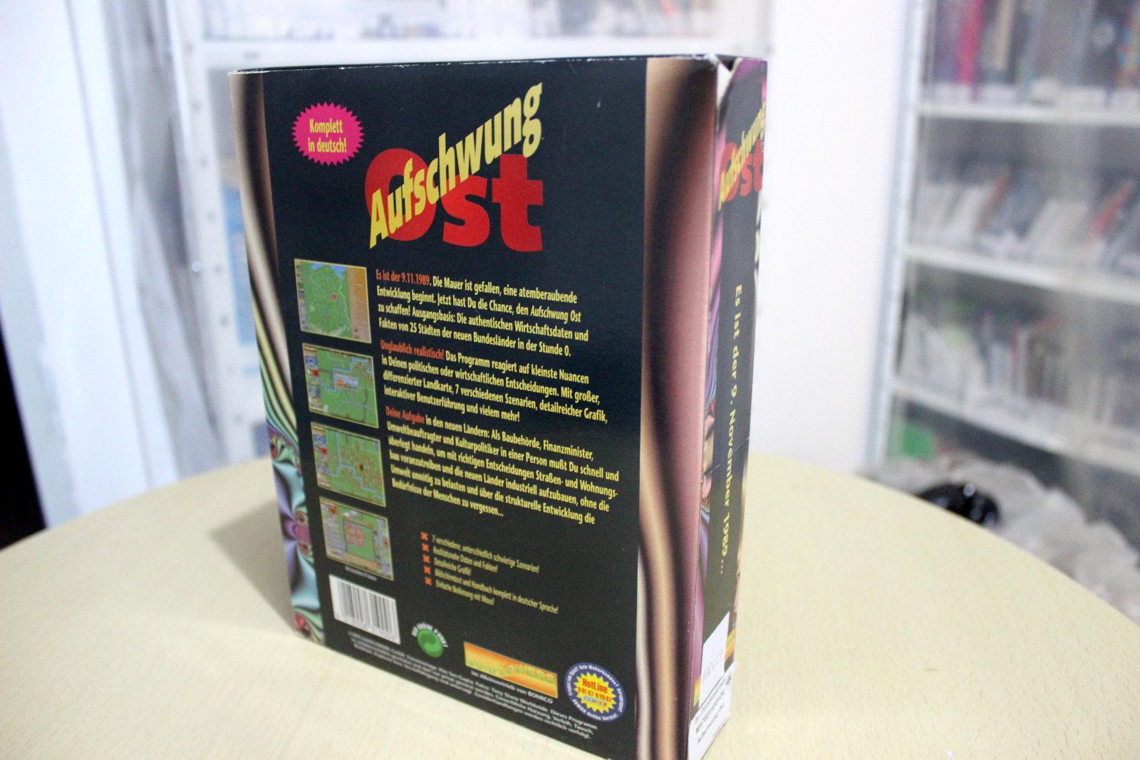 Packshot - Hinten - von Aufbau Ost. (Bild: Computerspielemuseum Berlin)