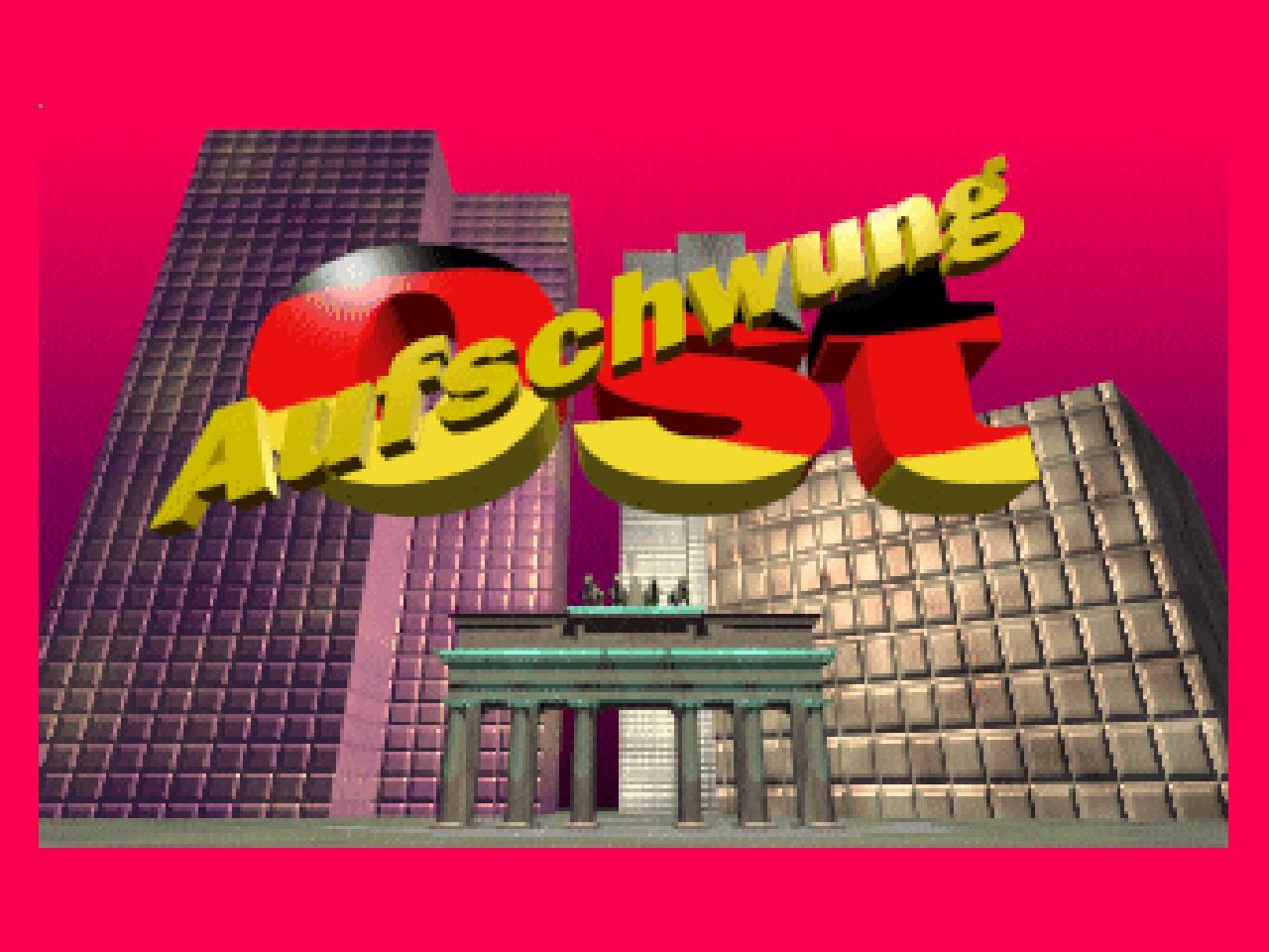 Aufschwung Ost erschien 1993 für Amiga und PC. (Bild: Thilo Niewöhner)