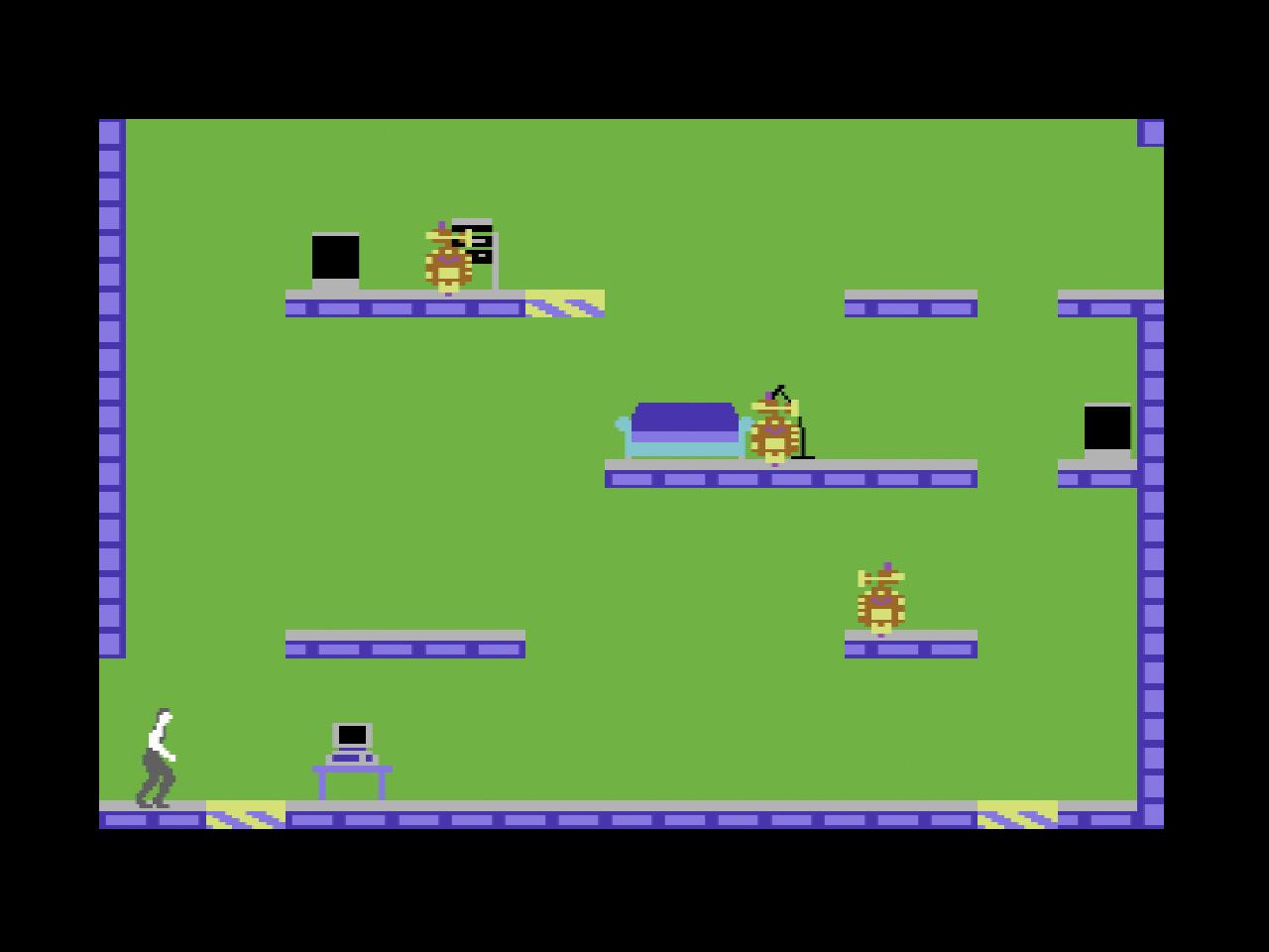 Impossible Mission von Epyx bot knackige Rätsel, flüssige Animationen und sogar Sprachausgabe (Screenshot: Impossible Mission)